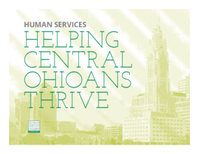 Helping Central Ohioans Thrive