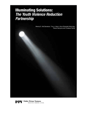 Illuminating Solutions: The Youth Violence Reduction Partnership