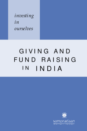Investing in Ourselves: Giving and Fund Raising in India