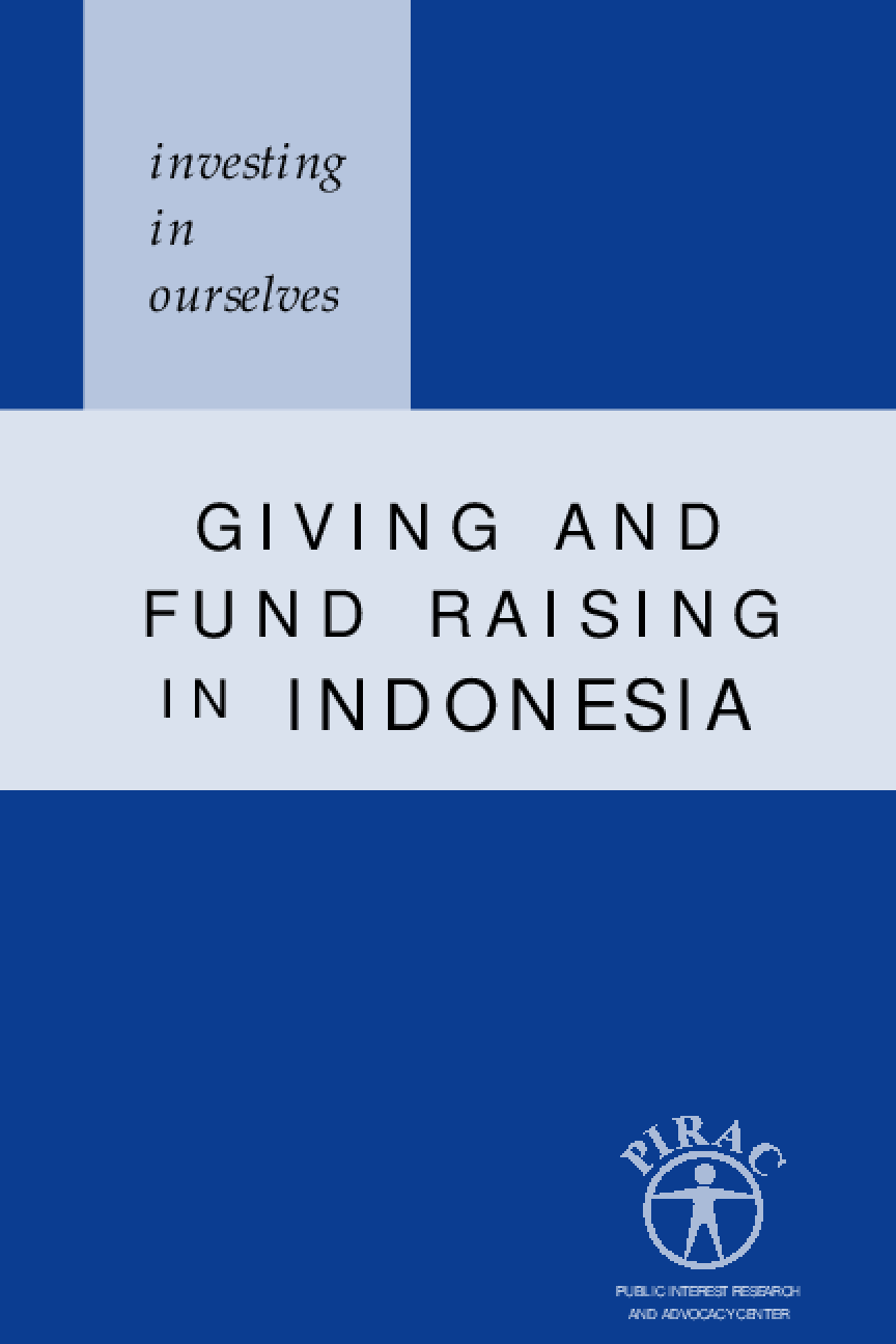 Investing in Ourselves: Giving and Fund Raising in Indonesia