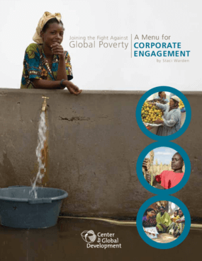 Joining the Fight Against Global Poverty: A Menu for Corporate Engagement