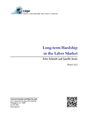 Long-term Hardship in the Labor Market