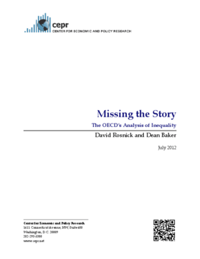 Missing the Story: The OECD's Analysis of Inequality