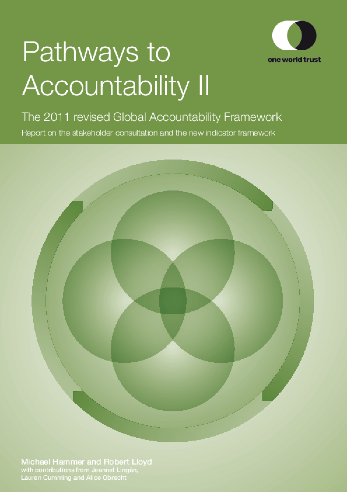 Pathways to Accountability II