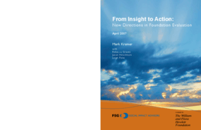 From Insight to Action: New Directions in Foundation Evaluation