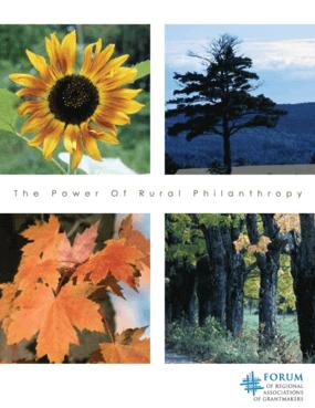 Power of Rural Philanthropy