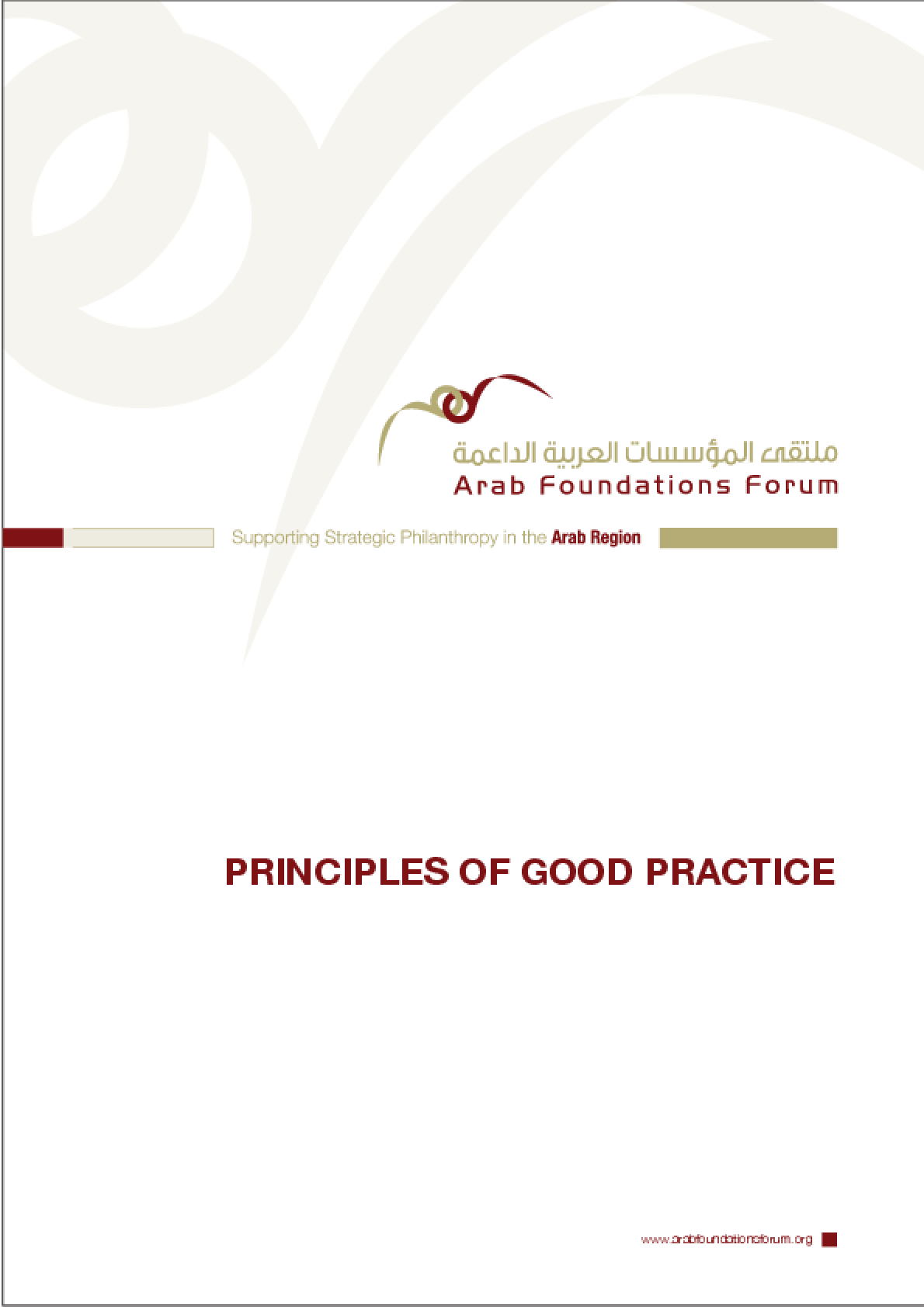 Principles of Good Practice - AFF
