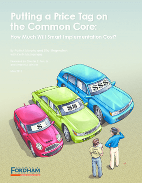 Putting a Price Tag on the Common Core: How Much Will Smart Implementation Cost?