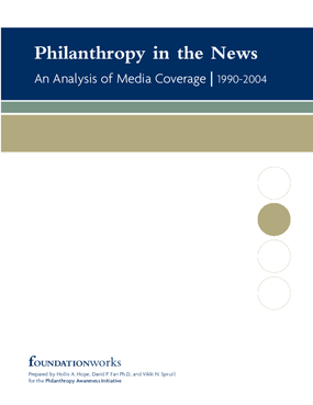 Philanthropy in the News