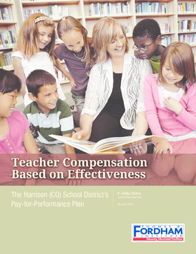 Teacher Compensation Based on Effectiveness: The Harrison (CO) School District's Pay-for-Performance Plan
