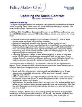 Updating the Social Contract