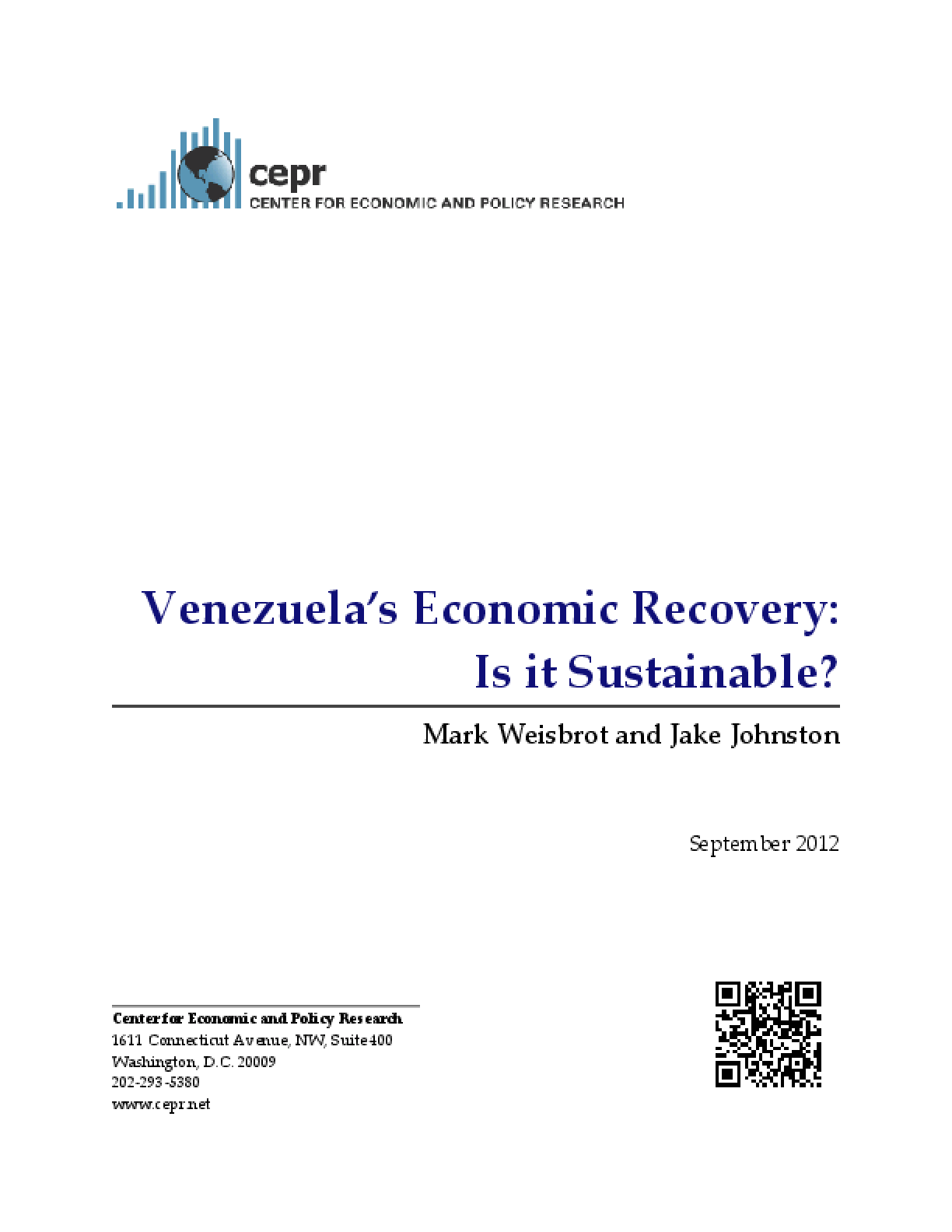 Venezuela's Economic Recovery: Is It Sustainable?