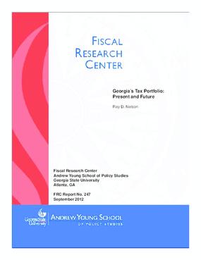 Georgia's Tax Portfolio Present and Future