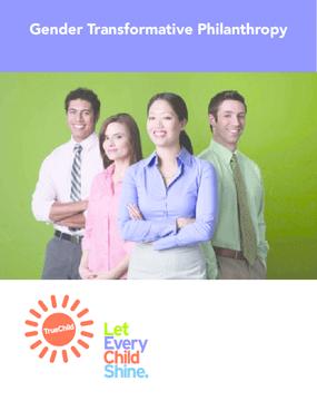 Gender Transformative Philanthropy