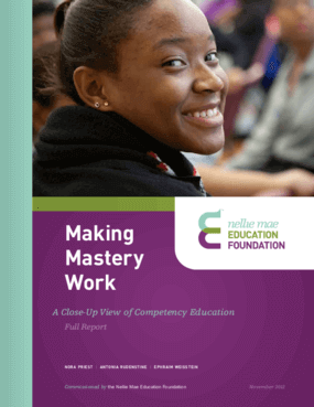 Making Mastery Work: A Close-Up View of Competency Education