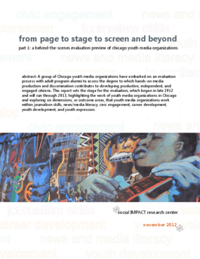 From Page to Stage to Screen and Beyond