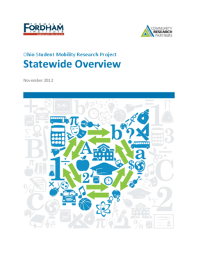 Ohio Student Mobility Research: Statewide Overview