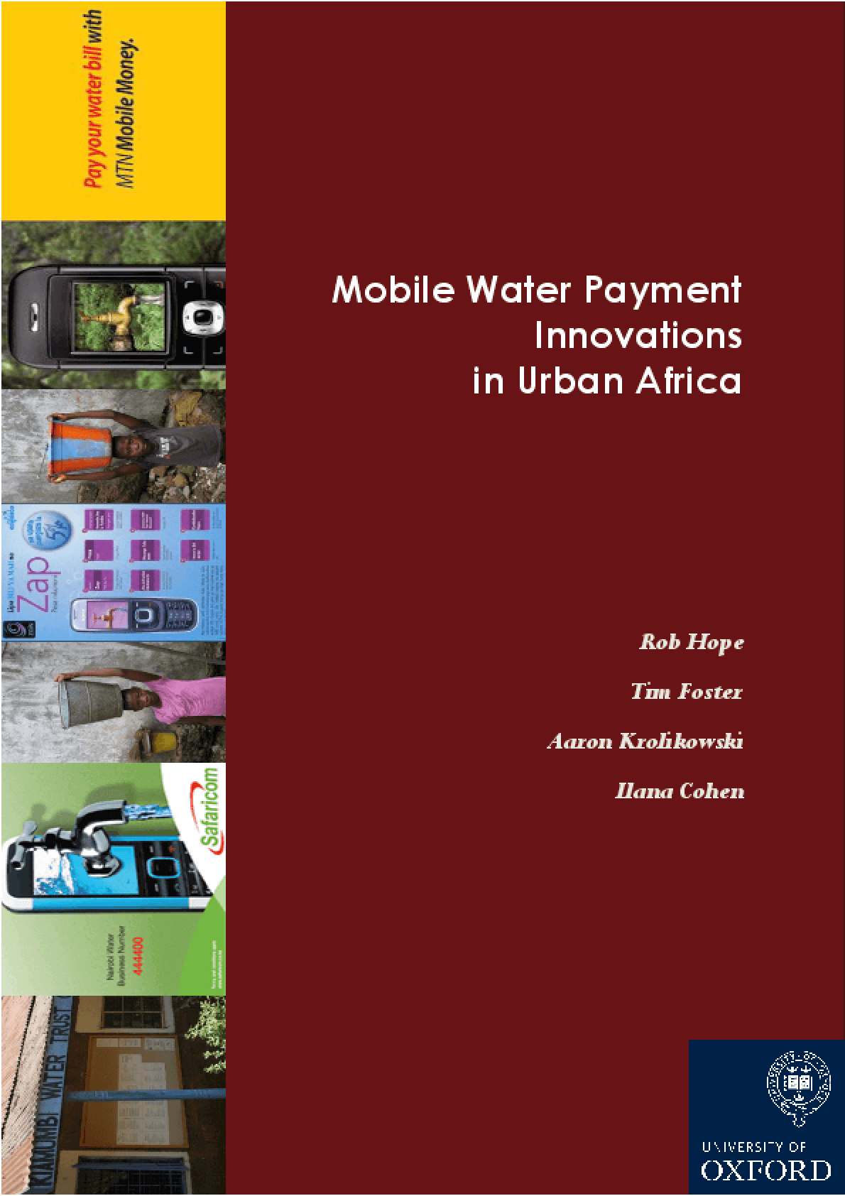 Mobile Water Payment Innovations in Urban Africa