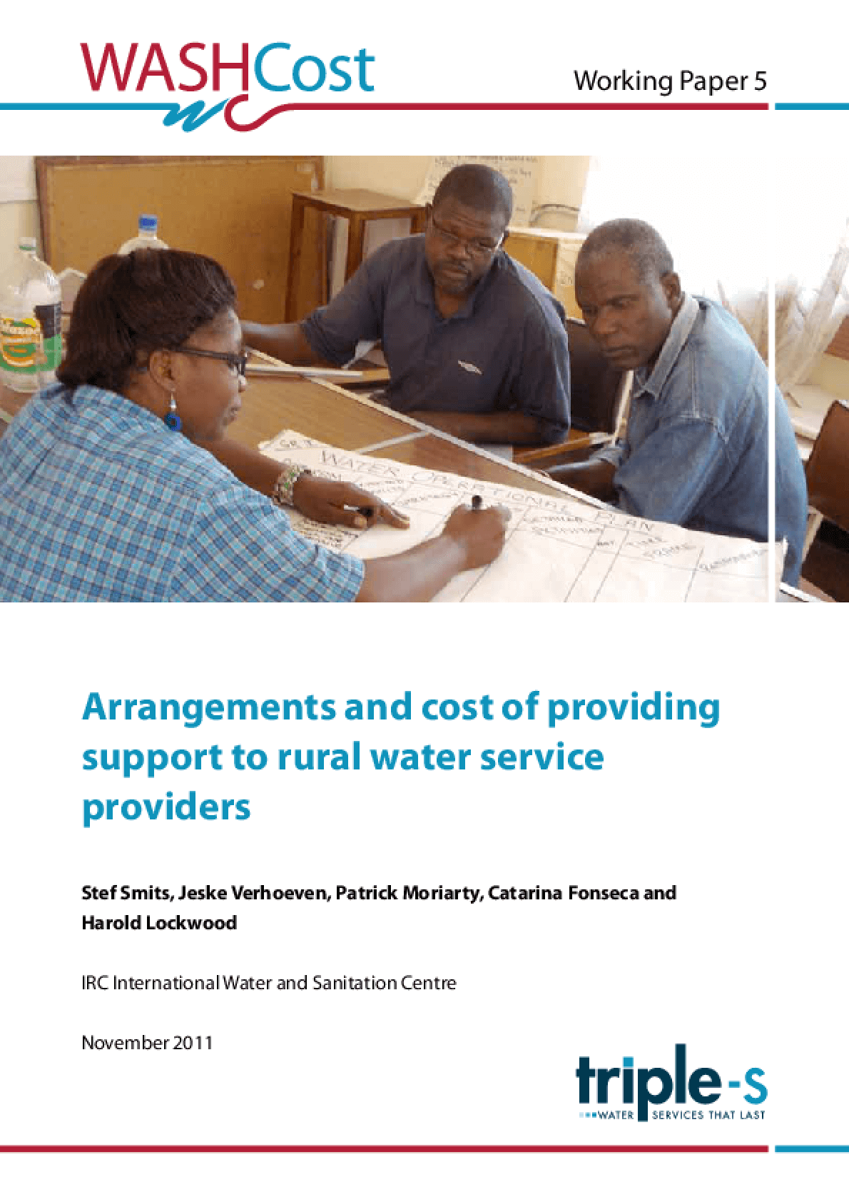 Arrangements and Cost of Providing Support to Rural Water Service Providers