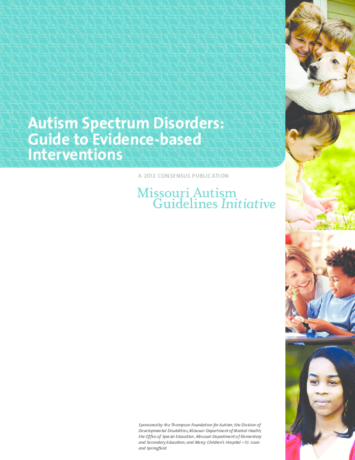 Autism Spectrum Disorders: Guide to Evidence-Based Interventions