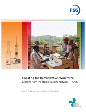 Boosting the Immunization Workforce: Lessons from the Merck Vaccine Network - Africa
