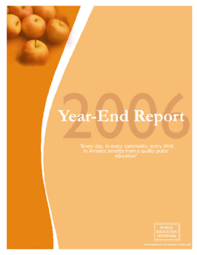Public Education Network 2006 Year End Report