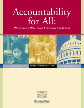 Accountability for All: What Voters Want from Education Candidates