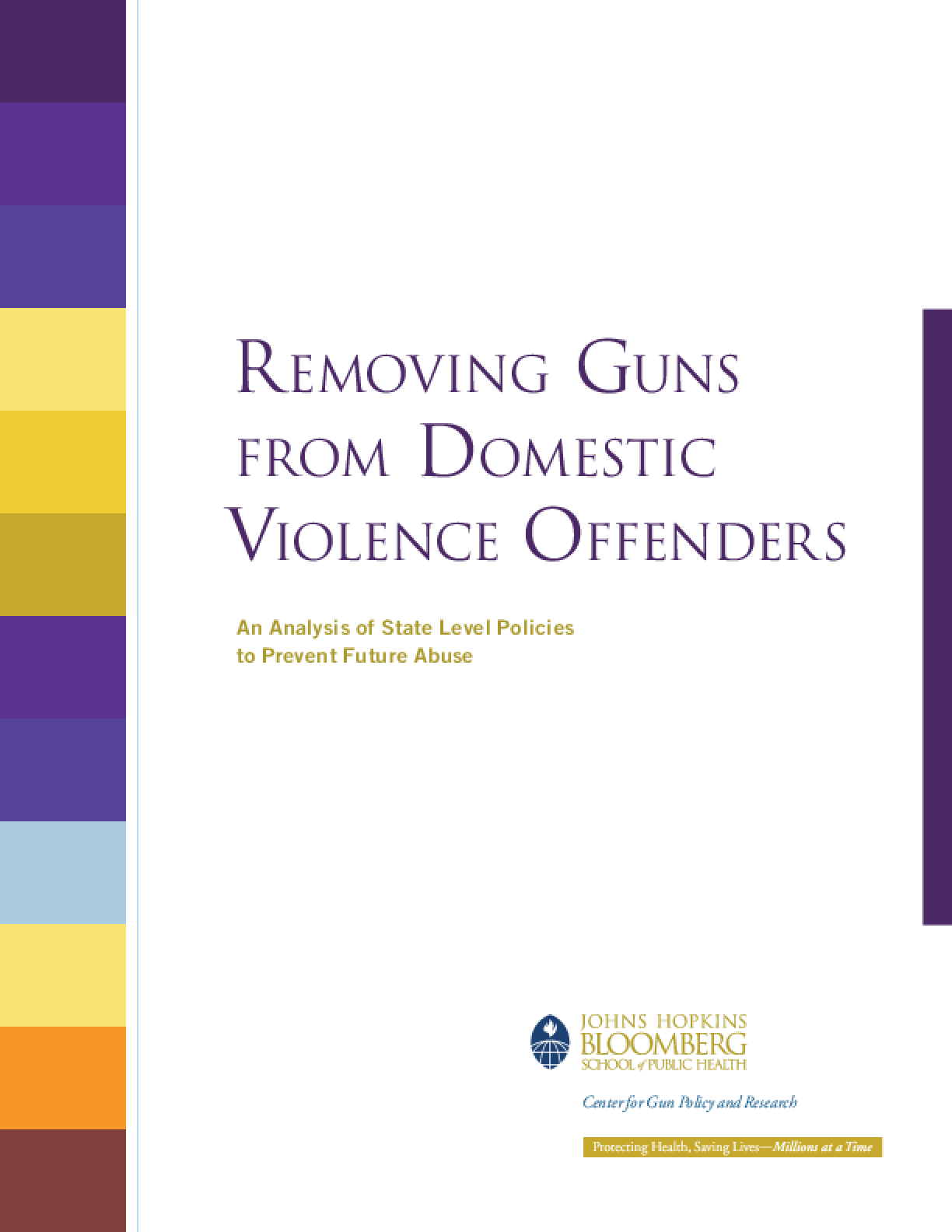 Removing Guns from Domestic Violence Offenders