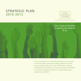 Public Education Network - Strategic Plan 2010-2013