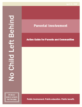 Parental Involvement: Action Guide for Parents and Communities