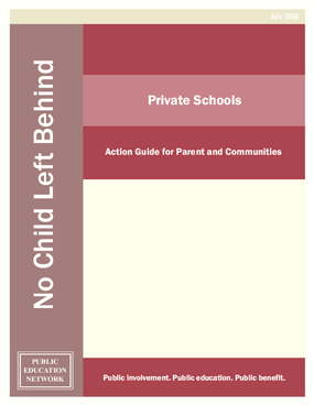 Private Schools: Action Guide for Parent and Communities