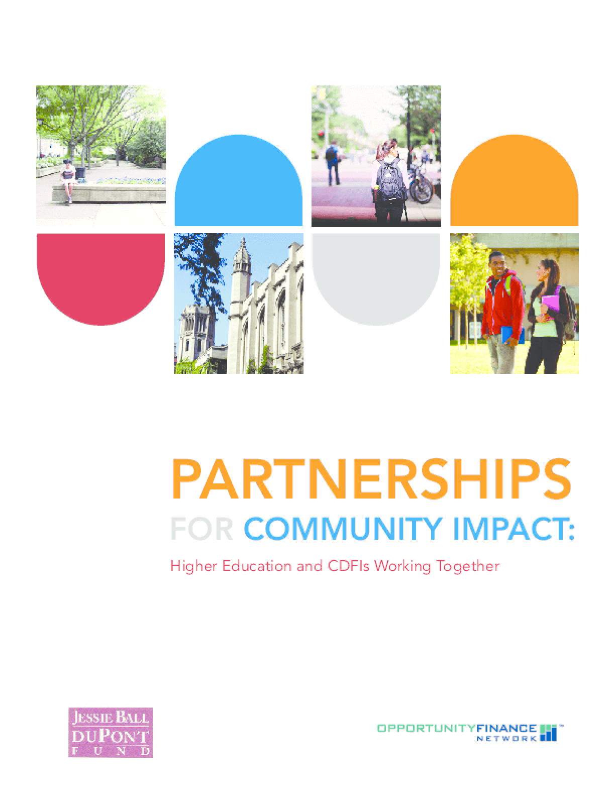 Partnerships for Community Impact: Higher Education and CDFIs Working Together