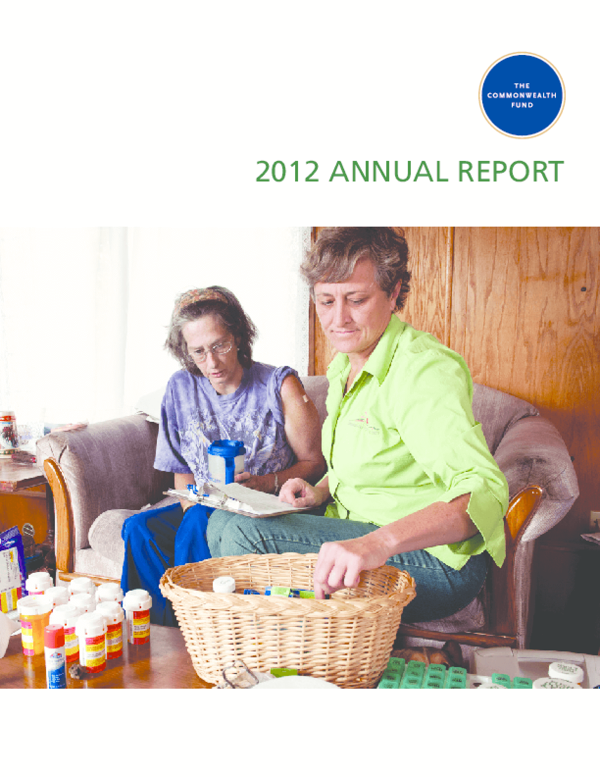 Commonwealth Fund 2012 Annual Report