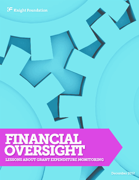 Financial Oversight: Lessons about Grant Expenditure Monitoring