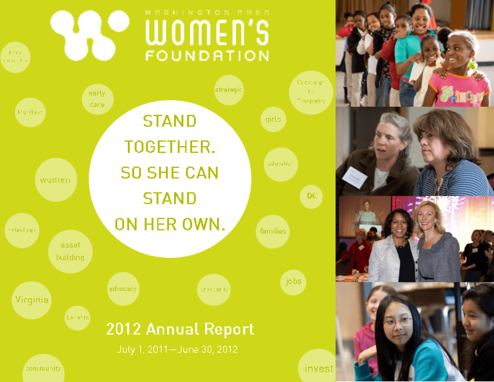 Washington Area Women's Foundation 2012 Annual Report