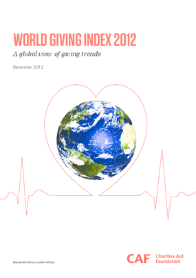 World Giving Index 2012: A Global View of Giving Trends