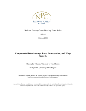 Compounded Disadvantage: Race, Incarceration, and Wage Growth