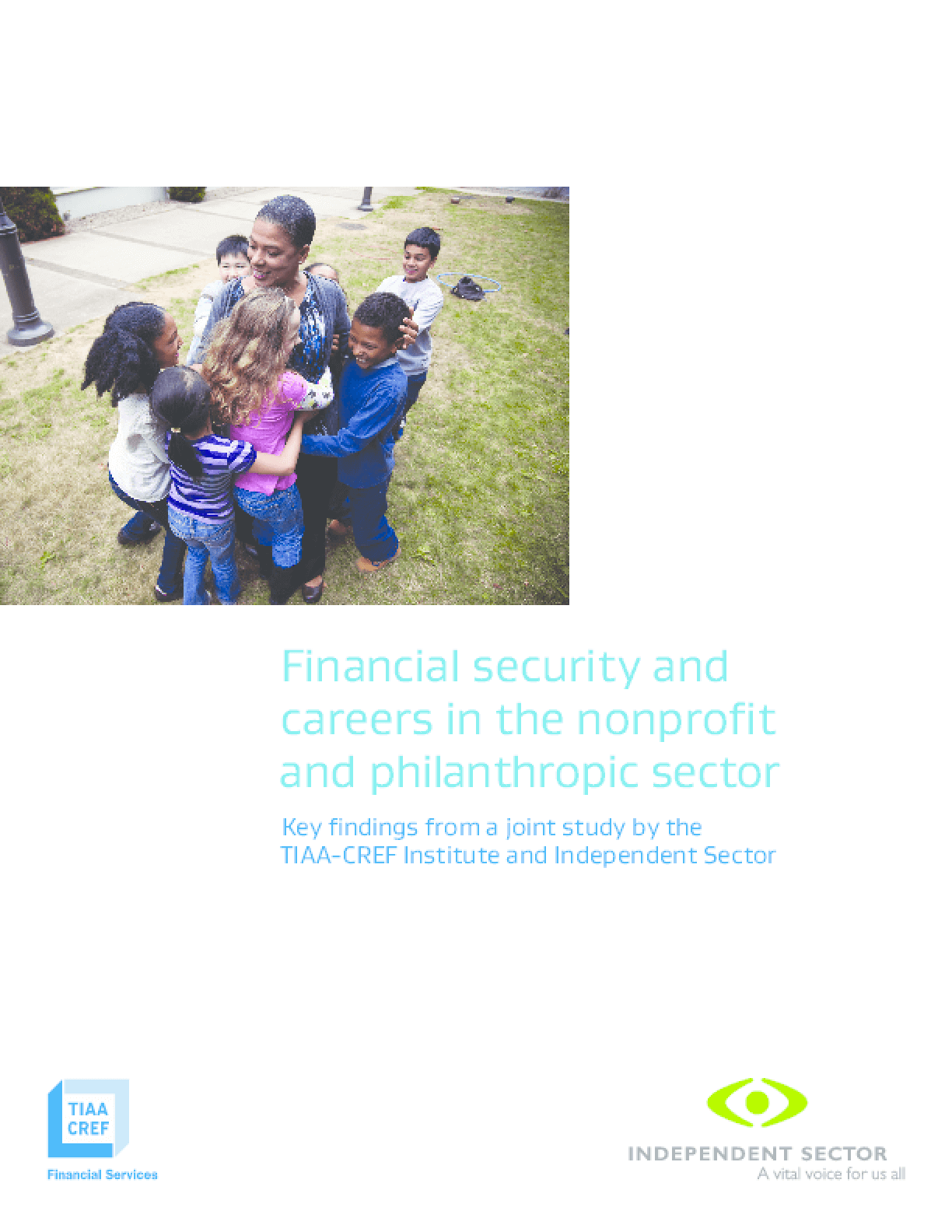 The Financial Security and Careers in the Nonprofit and Philanthropic Sector