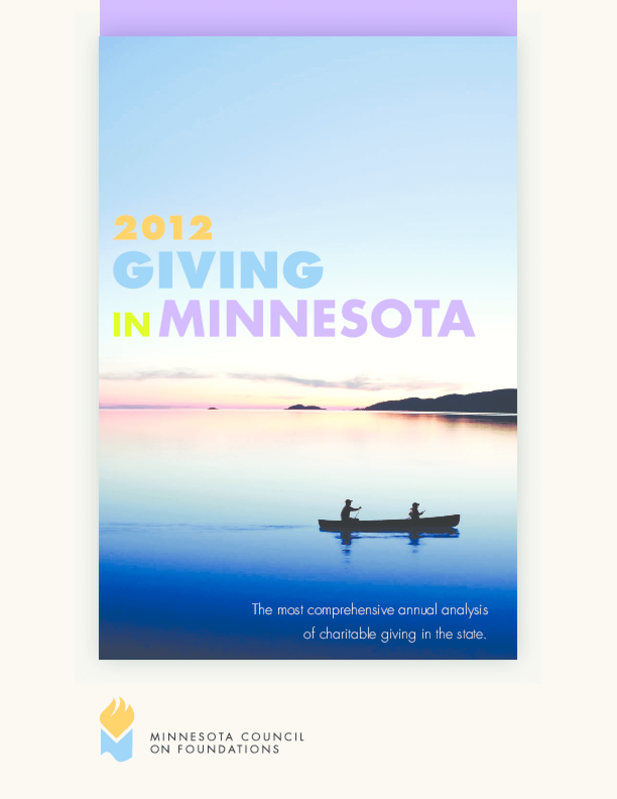 Giving in Minnesota, 2012 Edition Summary