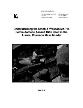 Understanding the Smith & Wesson M&P15: Semiautomatic Assault Rifle Used in the Aurora, Colorado Mass Murder