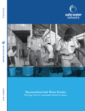 Decentralized Safe Water Kiosks: Working Toward a Sustainable Model in Ghana