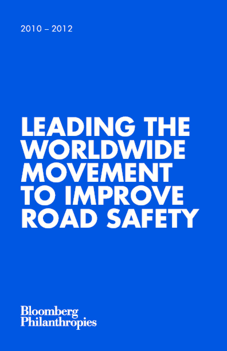 Leading the Worldwide Movement to Improve Road Safety