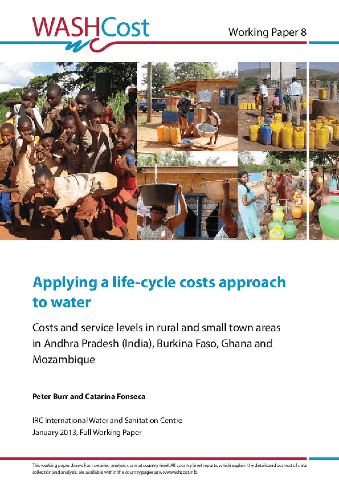 Applying a Life-Cycle Costs Approach to Water