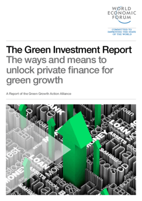 The Green Investment Report: The Ways and Means to Unlock Private Finance for Green Growth