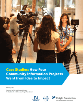 Case Studies: How Four Community Information Projects Went from Idea to Impact