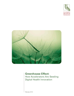 Greenhouse Effect: How Accelerators Are Seeding Digital Health Innovation