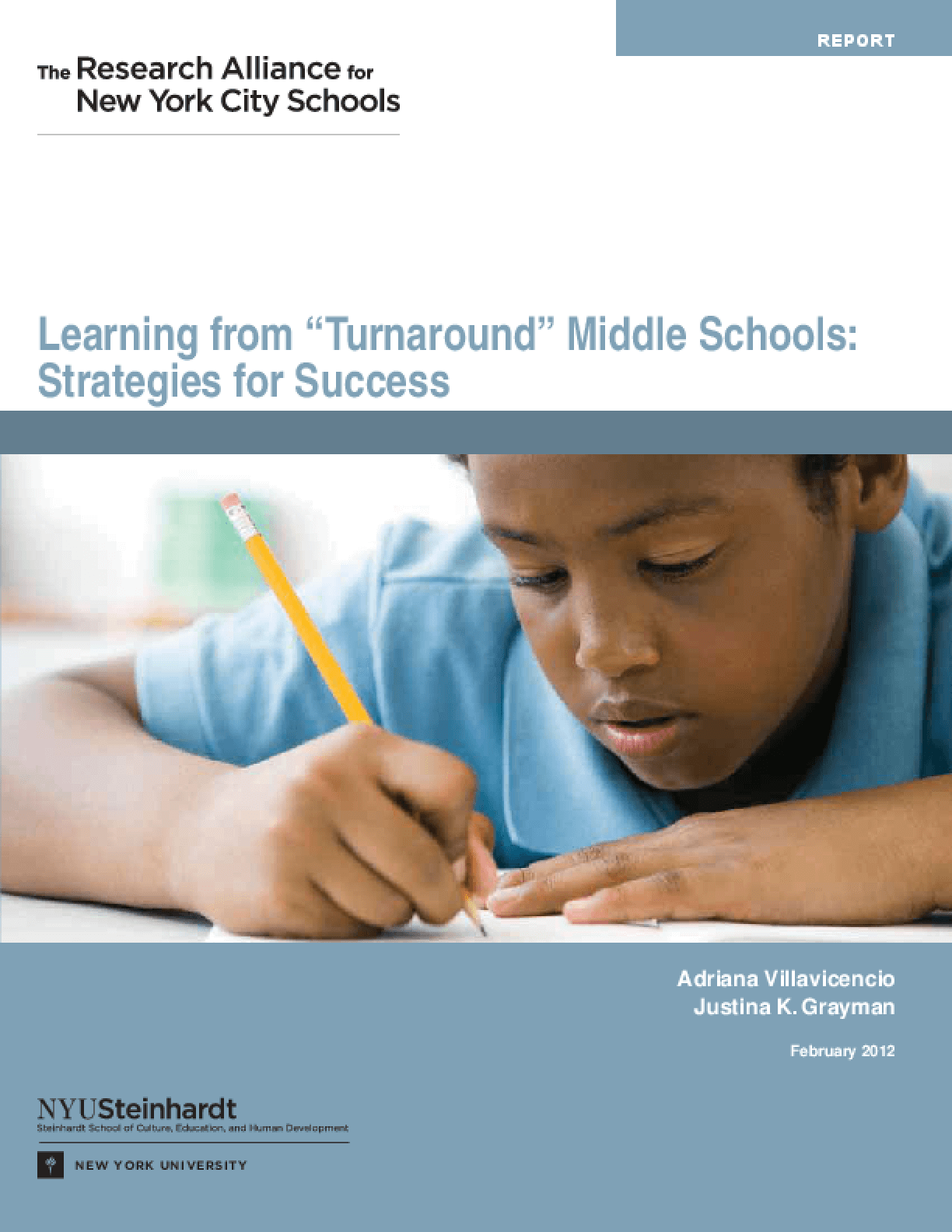 Learning from Turnaround Middle Schools: Strategies for Success