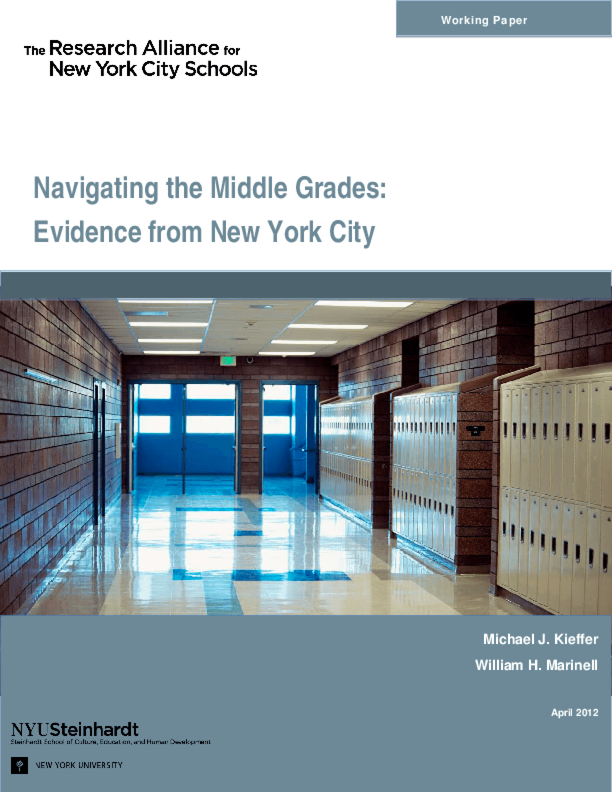 Navigating the Middle Grades: Evidence from New York City