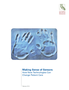 Making Sense of Sensors: How New Technologies Can Change Patient Care