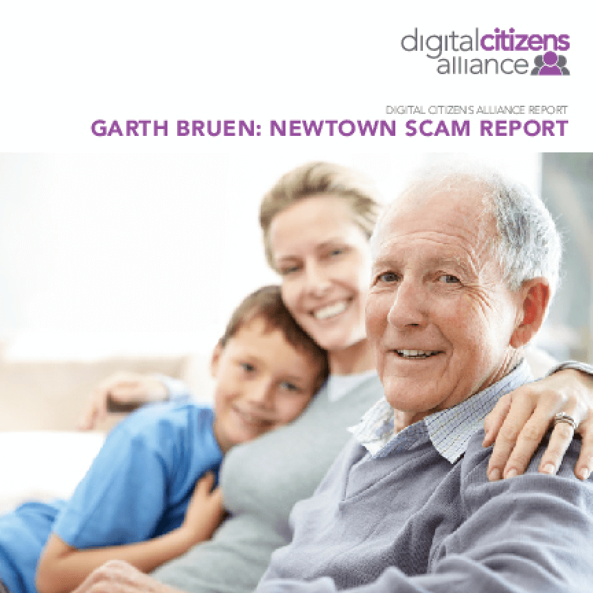 Garth Bruen: Newtown Scam Report